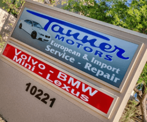 Tanner Motors Board