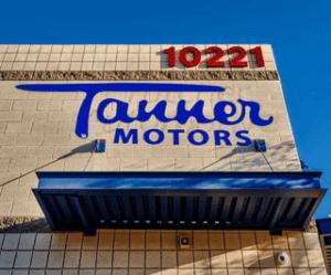 Tanner Motors Building