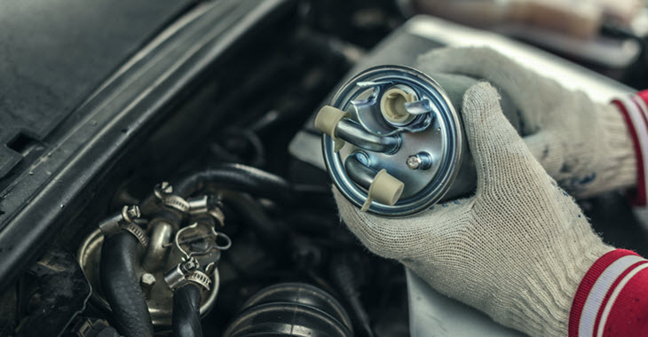 BMW Fuel FIlter Check