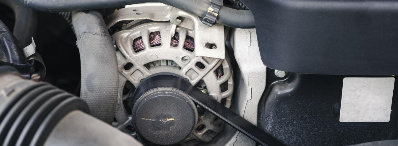 Car Alternator Repair Banner