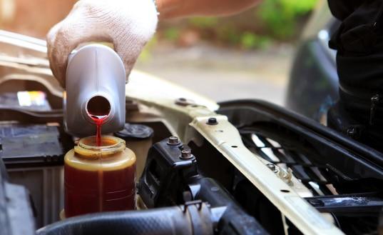 Car Steering Fluid Change
