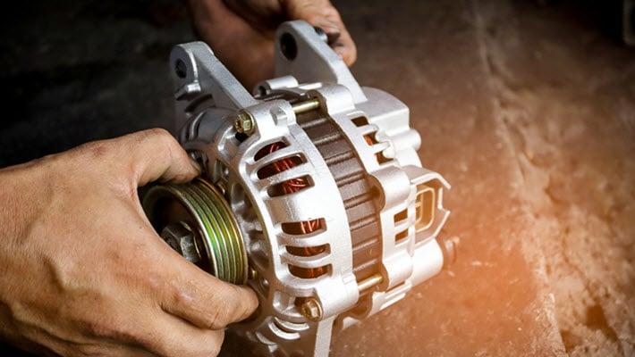 Volvo Alternator Repair