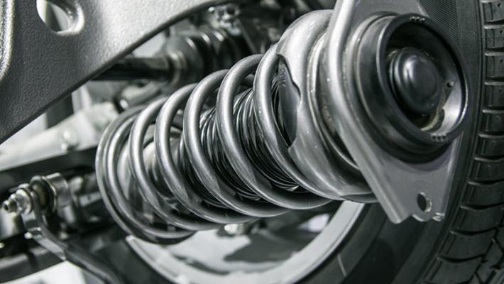 Mercedes Suspension System