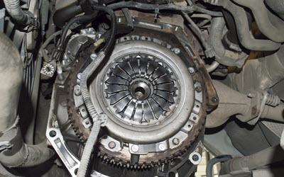Audi Clutch Inspection