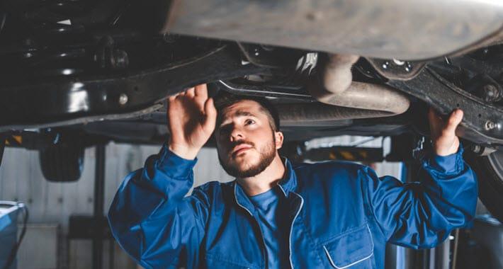 Lexus Suspension Inspection