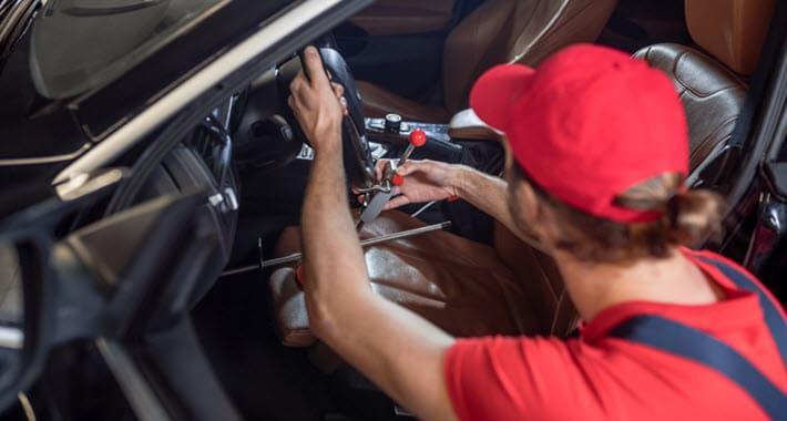 Lexus Cracked Dashboard Repair