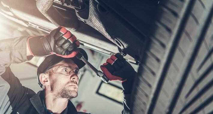 Mercedes Rear Suspension Inspection